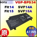 原廠【BPS34 = 41Wh】Sony Vaio Fit15, SVF15 電池