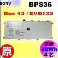 原廠【BPS36 = 48Wh】Sony Vaio Duo13 SVD132 電池