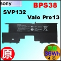 原廠【BPS38 = 36Wh】Sony Vaio Pro13, SVP13 電池