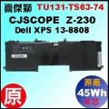 原廠 TU131【Z-230 = 45Wh】CJSCOPE Z-230  電池【4芯】