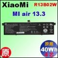 原廠 R13B02W【 Xiaomi Air 13  = 39Wh 】Xiaomi Mi air 13 電池