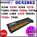 【 X240 = 4400mAh】Lenovo ThinkPad X240 X250 X260 X270 T440s T450s T550 電池【6芯】